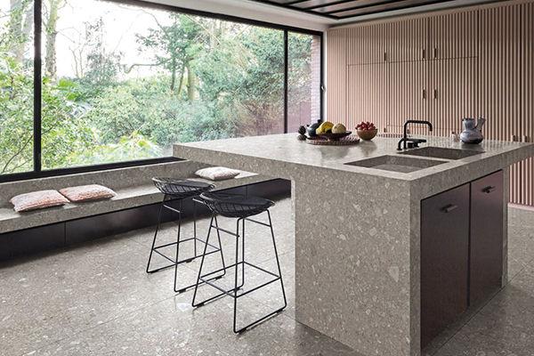 Keukenbladen van natuursteen