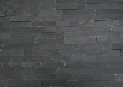 Natuursteen wandtegel Stonepanel Black 15x55