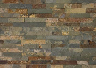 Natuursteen wandtegel Stonepanel Rusty 15x55