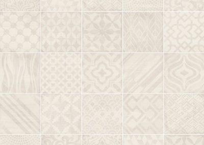 Wandtegel Heritage Grey Decor 20x20