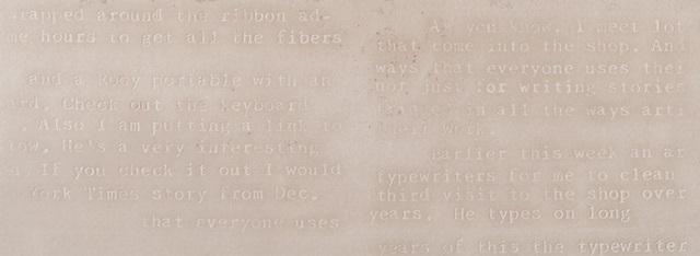 Wandtegel Nar Beige Words 33x90